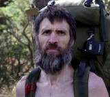 Naked rambler Stephen Gough back in the wild having left prison today for repeated nudity offences