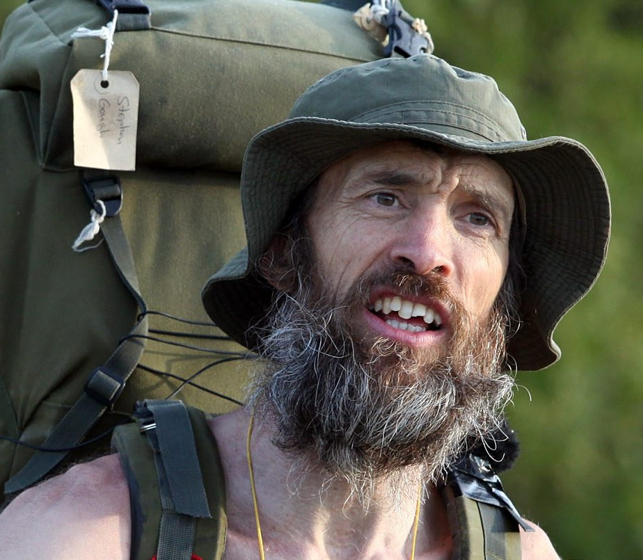 The 'Naked Rambler' Stephen Gough earlier this month after being released from prison