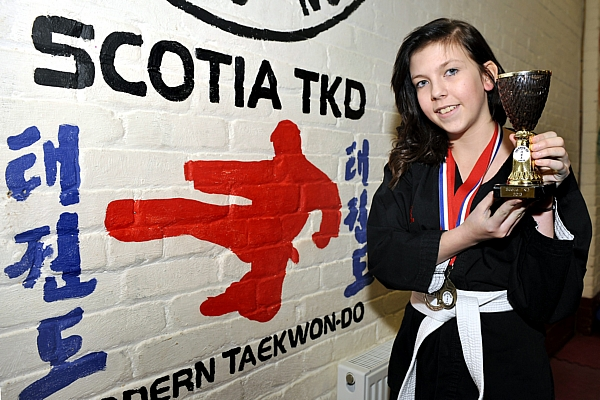 Catherine McIntyre has beaten her bullies by taking up taekwondo