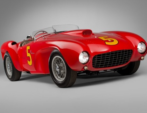 A 1953 Ferrari 375 MM Spider by Pinin Farinaexpected to sell for in excess of £5 million this weekend