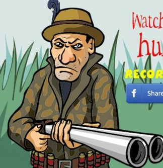 Ass Hunter is a game in which players have to shoot gay men