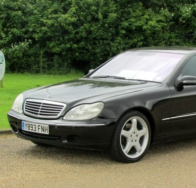 David Beckahm's old Mercedes which has been put up for sale for £7,000