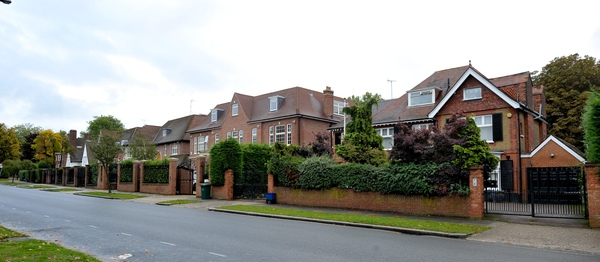 Famous residents in houses such as these have included Bernie Ecclestone, Ringo Starr, Joan Collins and Lakshmi Mittal, the Indian businessman