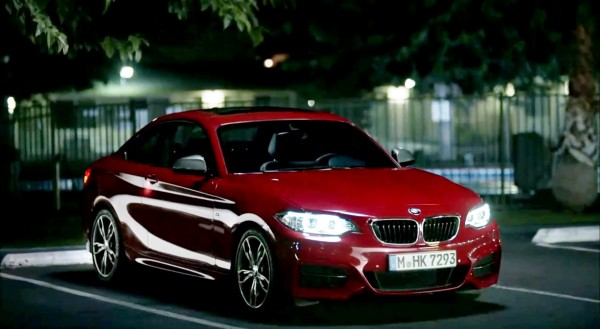 The BMW 2 Series Coupe in all its barking and biting glory