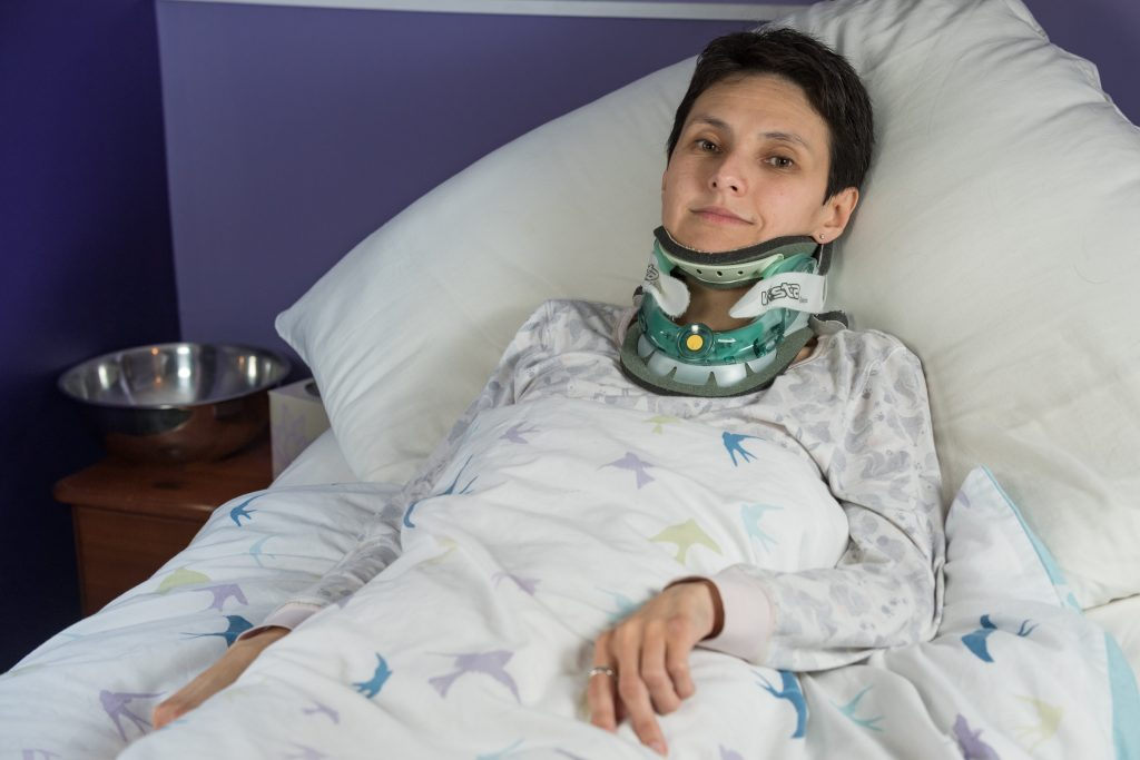 Sarah Gearing who suffers with Ehlers Danlos Syndrome