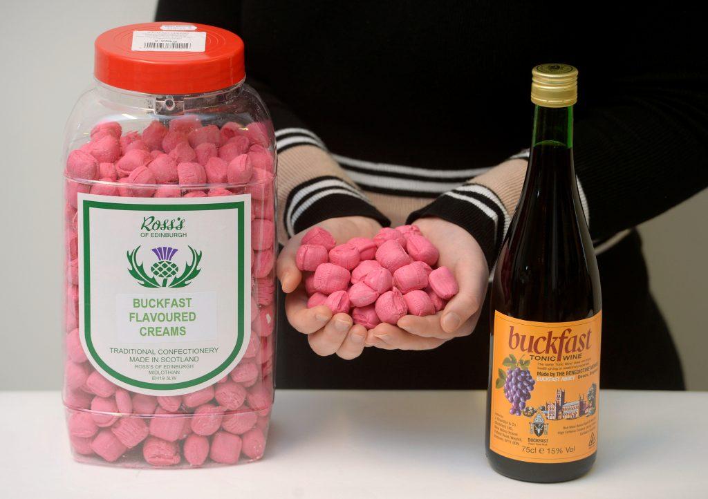 Sweet maker Ross's of Edinburgh have created Buckfast tasting creams.