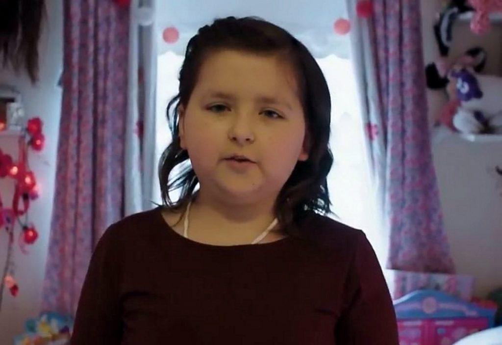 Brave 10-year-old Isabella Lyttle.