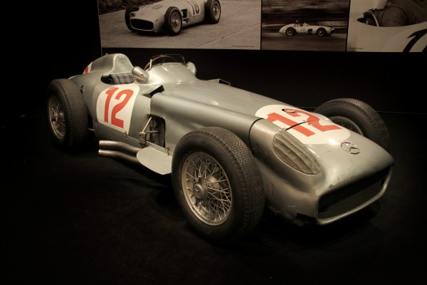 The 1954 Mercedes-Benz W196 Grand Prix which sold for £19.6 million