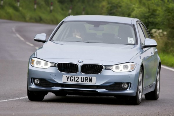 The 2012 3-Series BMW- the 7th best selling car in the UK in 2013