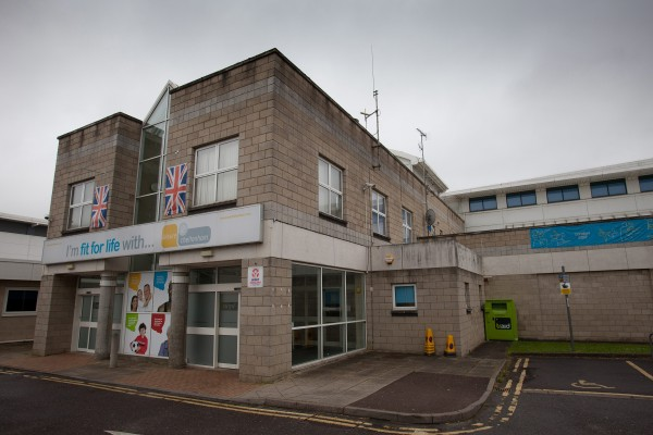The public leisure centre in Cheltenham