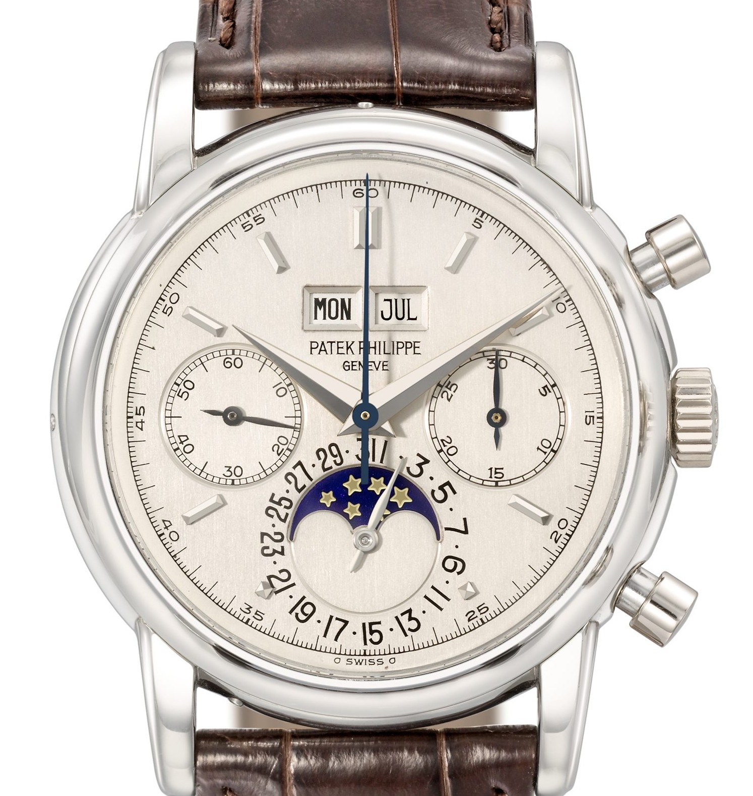 "This ""exceptionally rare"" Patek Phillipe watch owned by Eric Clapton which sold at auction for £2.2 million"