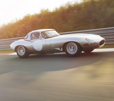 Jaguar's revived E-Type race car which will cost wealthy collectors £1 MILLION