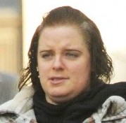 Juliet Clarke arrives at Plymouth Magistrates court. The conwoman scammed boyfriends out of cash