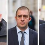 Sgt Jan Kingshott, Simon Tansley and Michael Marsdon (SWNS Group)