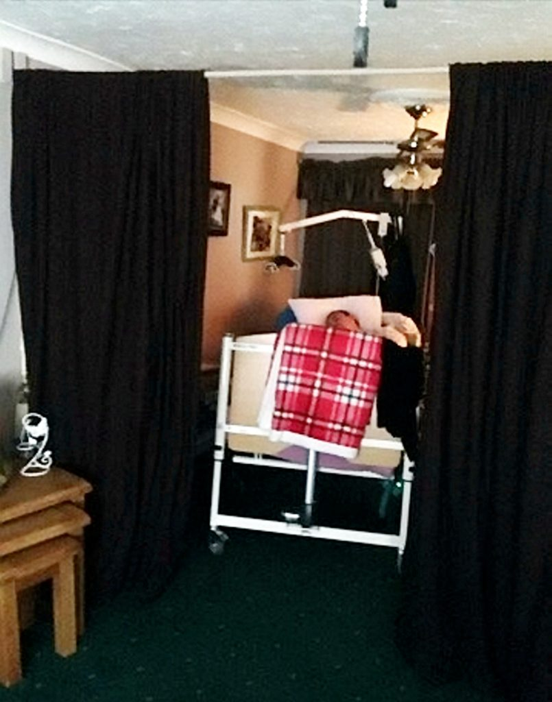 Simon's current living arrangements.
