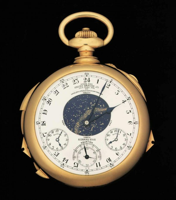 The Henry Graves Supercomplication, made by Patek Philippe, is expected to sell at auction for £10 million