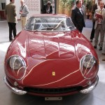 Steve McQueen's old Ferrari 275GTB which has been restored in Classiche