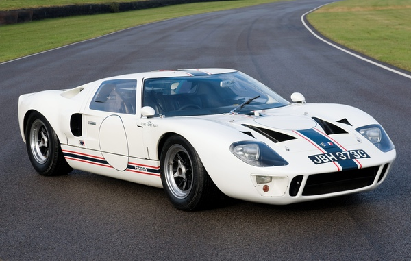 This particular 1965 Mark 1 model was the first Ford GT40 to win a race in Europe when it picked up victory at Magny-Cours