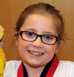 Grace Perez fought back against her bullies by learning Chi Taekwondo