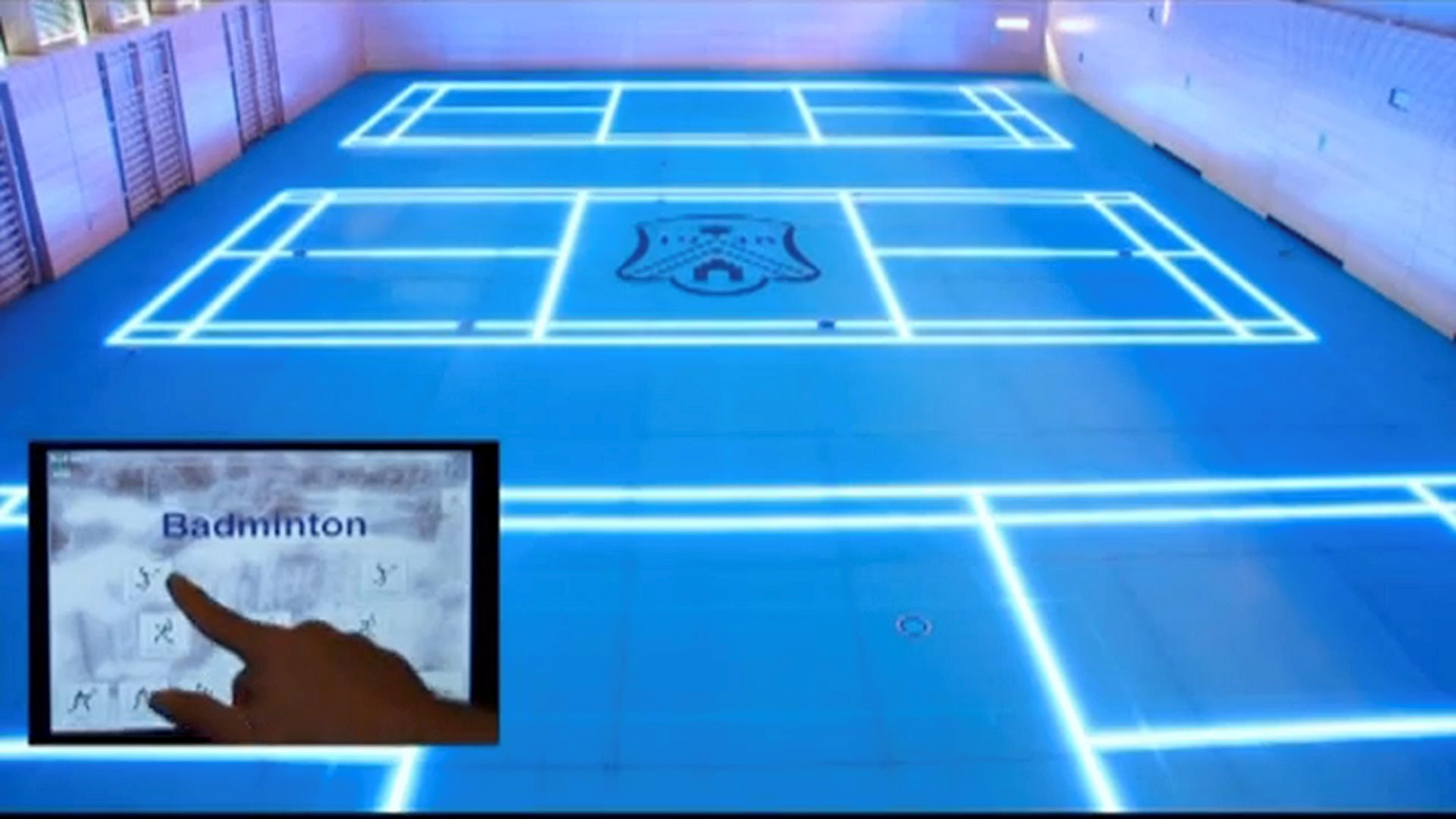 Top Glass: The world's first interactive gym floor with ...