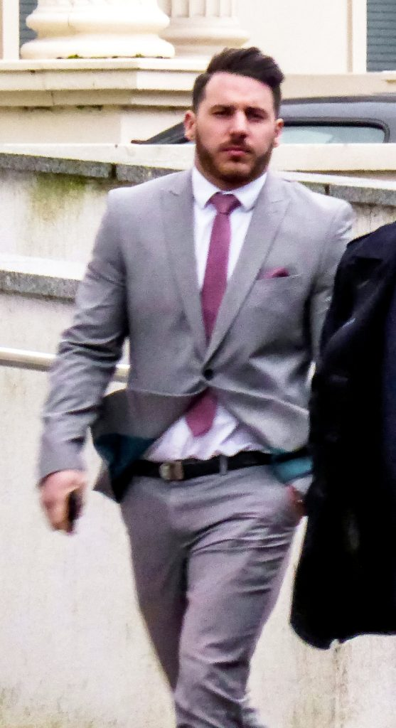 George Hacker appearing at Coventry Crown Court.