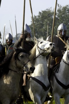 The 1066 Battle Of Hastings re-enactment in 2010