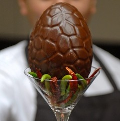 The worldâ€'s hottest Easter egg which packs the equivalent punch of 400 bottles of Tobasco sauce