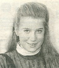 Newspaper clipping of Katie Hopkins in 1992