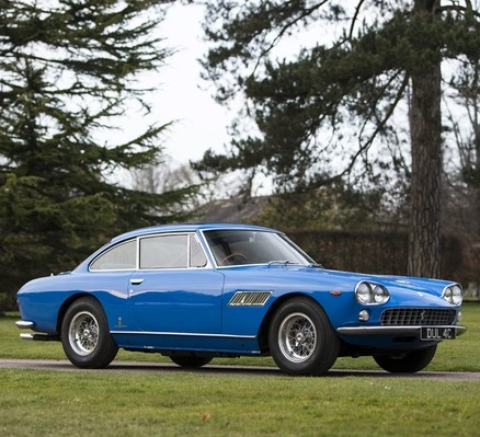 The classic Ferrari which was the first car owned by John Lennon and is expected to fetch more than £200,000 at auction