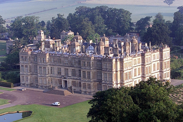 The impressive Longleat estate belonging to Lord Bath