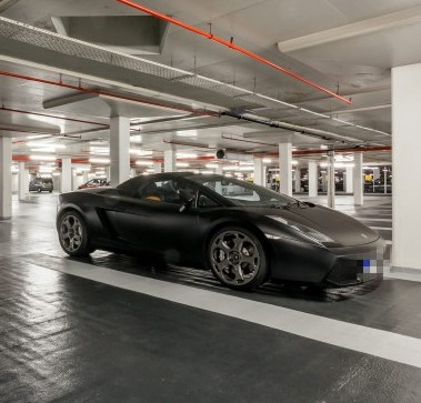 The prime parking sports can accommodate a super car