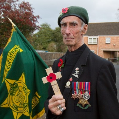 Burma veteran Bill Daw, age 89, from Taunton, Somerset, was told by Morrisons to stand outside in the cold