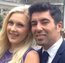 Tragic Nick and his girlfriend Leah Wilkins