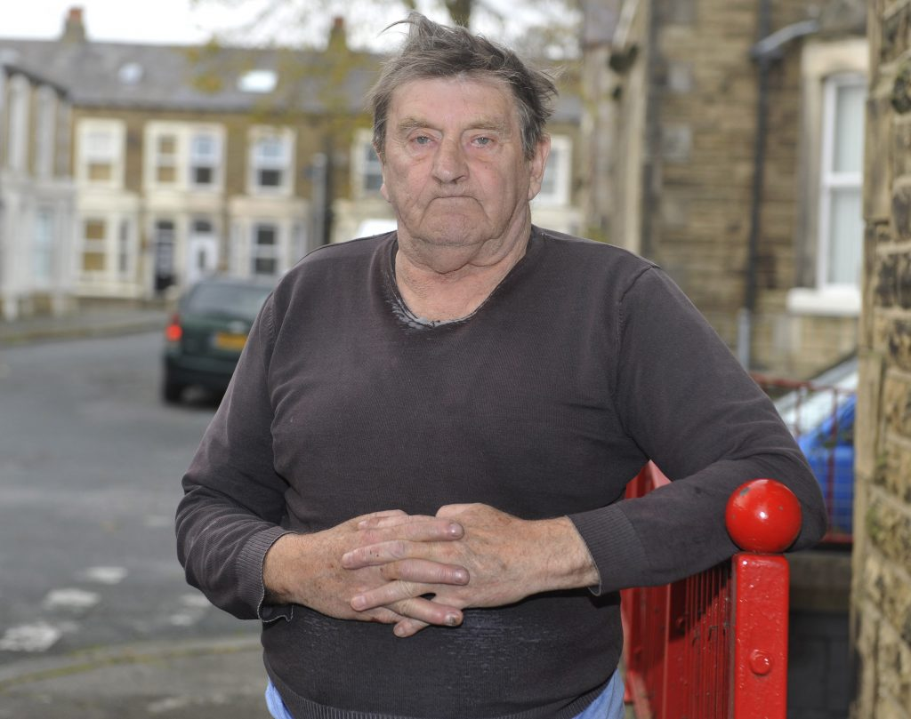 Bob Harrison of Morecambe, Lancs., was attacked with a plank of wood by a group of youths after confronting them for the first time - after 2 years of torment from them.