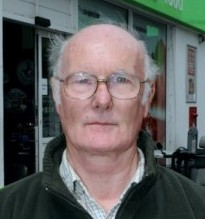 Edward Lamb outside his local co-op with the case of Fosters they initially refused to serve him because he was with his 13-year-old grandson