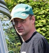 Lt. Col. Mark Smyth leaves his house in Nailsea, Somerset
