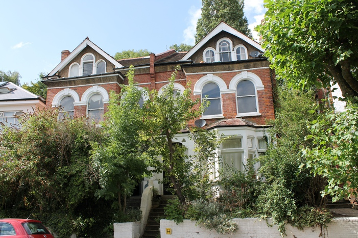 The home in Stanhope Gardens, Highgate where the rock band lived in the early 1960s. It has remained the same ever since