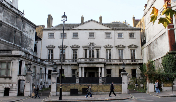 Cambridge House in Piccadilly, which the Reuben brothers plan to turn into Britain's most expensive home
