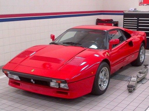 The limited edition 1984 Ferrari 288 GTO Ian Poulter paid £650k for