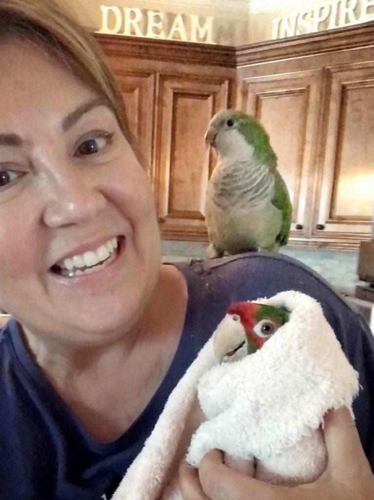 Chicken Man with Brenda Jorgensen.