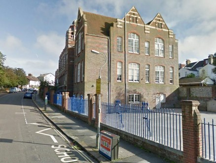 Stanford Junior School in Brighton, East Sussex where school children have been banned from playing a new craze called The Raping Game