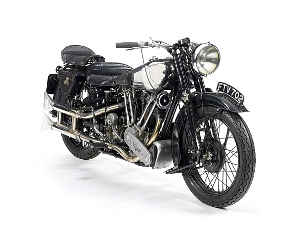 The Brough Superior SS100 which is expected to sell for £180,000