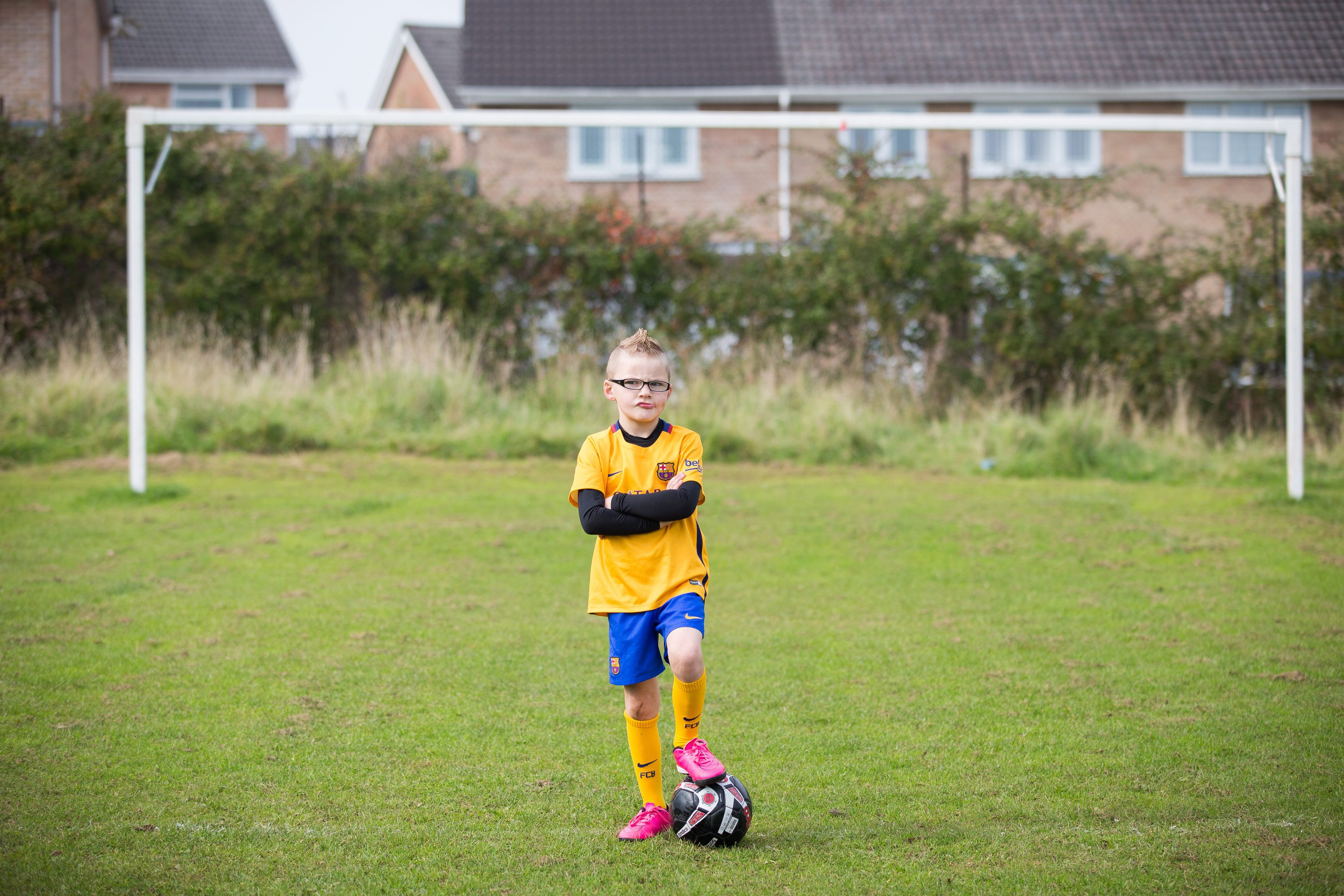1c07c07a4c4ec Seven-year-old banned from playing football with his local team ...