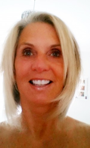 One of Diane Clarke's selfies after she spent £15k on plastic surgery
