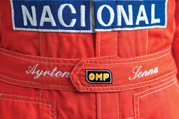 This race suit worn by motorsport icon Ayrton Senna during his 1991 championship winning season is expected to sell for £33,000 at auction