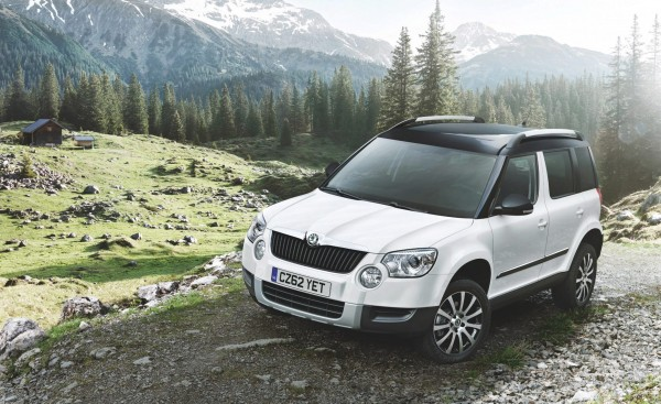 The massively successful Skoda Yeti which has been voted best car for the third year running