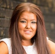 Hannah Norman, 19, from Cwmbran, Wales, who is addicted to fake tanning and sun beds