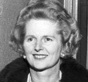 Margaret Thatcher on a visit to Ashford in 1973. She is regarded by most as Britain's best PM