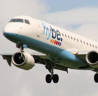 The pilot was arrested on a Flybe flight from Newquay, Cornwall to London Gatwick on suspicion of being drunk (file picture)