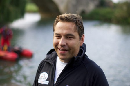 David Walliams has been voted Britain's best-loved celebrity dad
